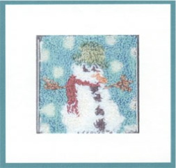 Punch Needle Snowman NP01